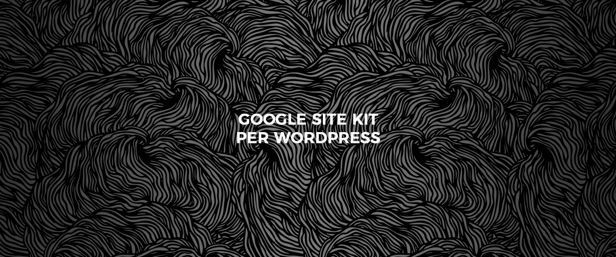 google site kit - copertina